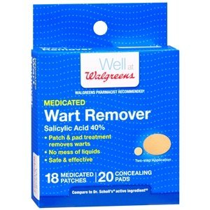 Walgreens Wart Removers, 18 ea, Packaging May Vary