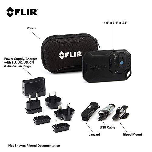 FLIR C3 Wärmebildkamera im Taschenformat mit Wifi - 6