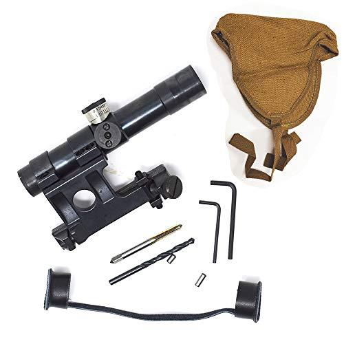Sniper MG4X20 Mosin Nagant 91/30 Scope Svt-40 Steel Mount Steel Tube