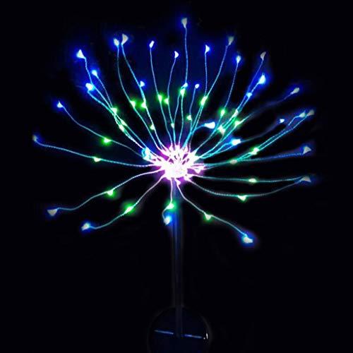 Lampen op zonne-energie in de vorm van een paal, deuk, paesage, deuk, tuinverlichting op zonne-energie voor de Nuziale kerstfeesten, Del Patio