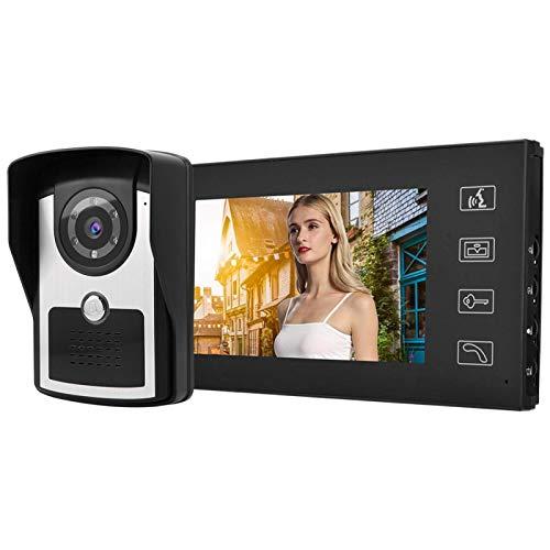 Intercomunicador manos libres de bajo consumo Videoportero alto(British regulations (110-240V))