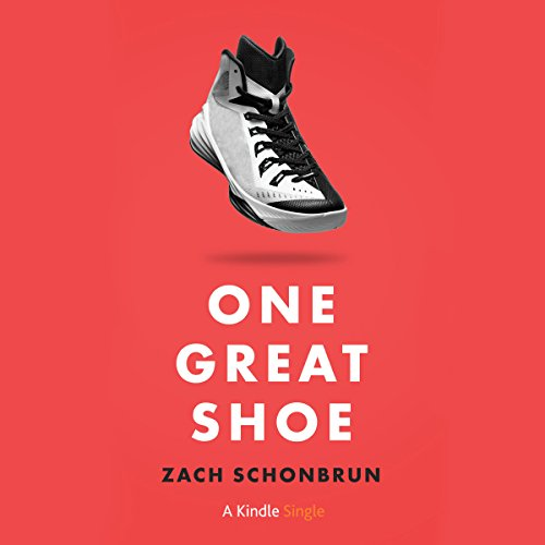 One Great Shoe audiobook cover art