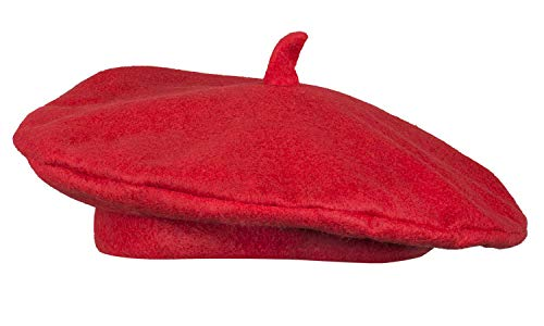 Boland 62001 Baskenmütze France, Rot