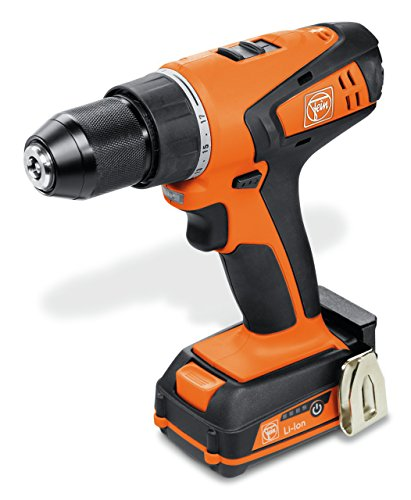 FEIN ABSU 12 W4C Cordless 12V 2 Speed Screwdriver, 12 V, Orange