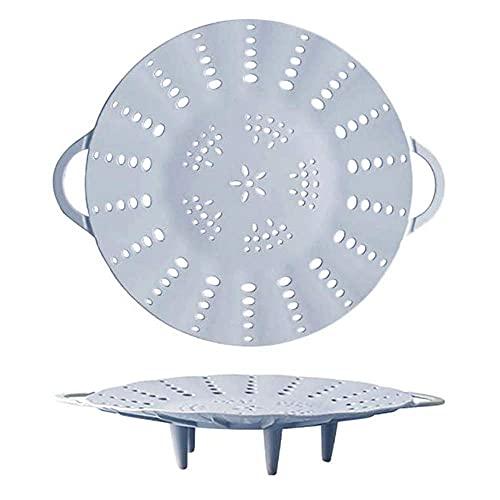 Cestas de silicona para vaporera para ollas, rejilla de vapor plegable, compatible...