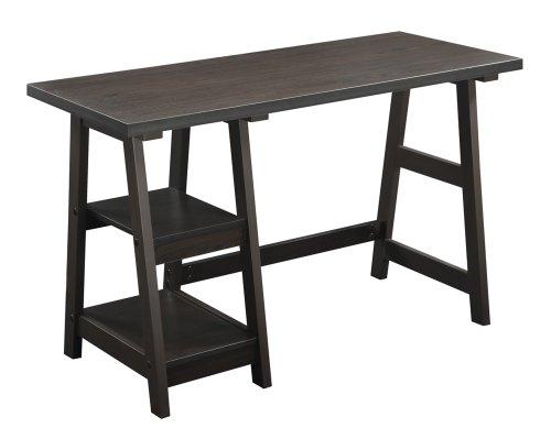 Convenience Concepts 090107ES Trestle Desk,...