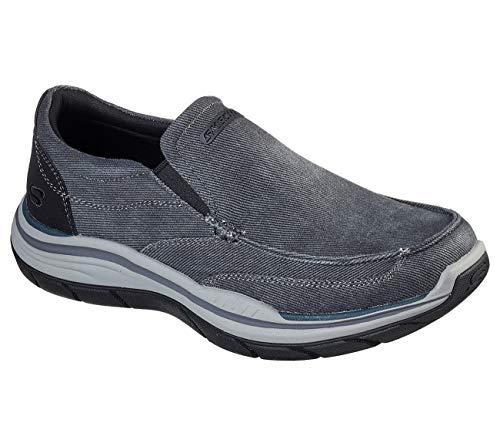 Skechers - Mens Expected 2.0 - Brako Shoes, Size: 10 M US, Color: Black