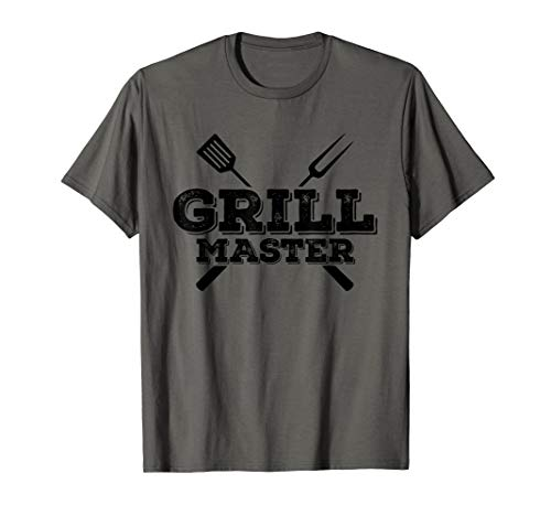 Grill Master Grilling Barbecue BBQ Smoker Graphic Tee T-Shirt