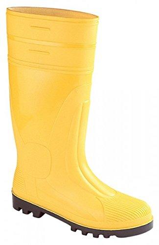 Asatex Ssg 48stivali in PVC sicurezza S5, taglia 13, giallo
