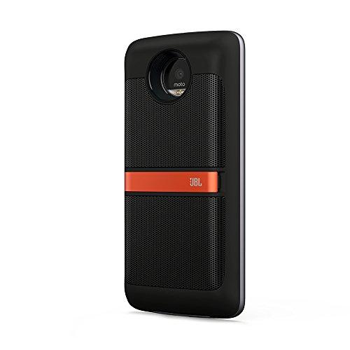 Lenovo Moto Mod - Altavoz JBL (2 Altavoces 80dBSPL @ 0.5m y batería integrada de 10hrs), Color Negro
