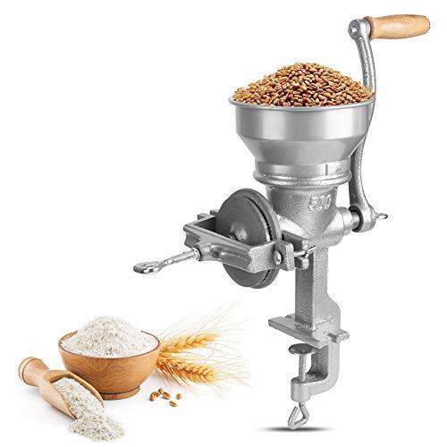Handbetriebene Getreidemühle, Haushaltshandbuch Lebensmittelmühle Getreidemehlschleifmaschine Handkurbelschleifwerkzeug Küchenutensilien