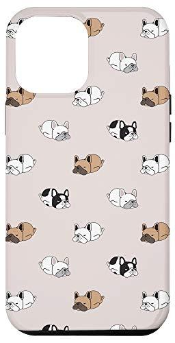 iPhone 12 Pro Max Funny French Bulldog Pattern Cute Frenchie Dog Mom Dog Case