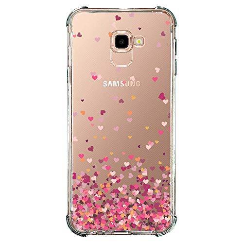 Capa Personalizada para Samsung Galaxy J4 Plus J415 Corações - TP48
