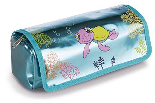 NICI 43406 Pencil case Turtle Seamon, 19 x 7 x 7 cm, Multi-Coloured