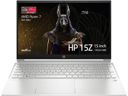 "HP Pavilion 15 Laptop: AMD Ryzen 7 4700U, 512GB SSD, 16GB DDR4 RAM, 15.6"" Full HD IPS Display, Windows 10"