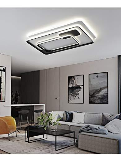 LED Lámpara de Techo Regulable,Plafon Led de Techo,Lámpara de Techo con Mando...
