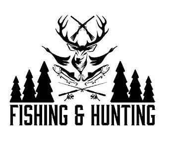 Autoaufkleber Aufkleber Fensteraufkleber Jagd Wild Sport Angeln Oder Jagen Schwarz Baby