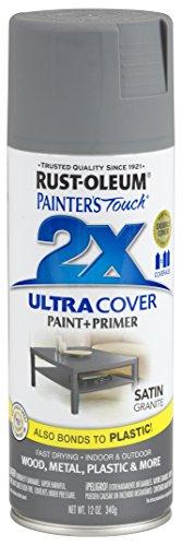 Rust-Oleum 249078 Painter's Touch Multi Purpose Spray Paint, 12-Ounce, Satin Granite