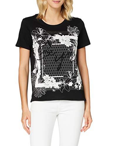 Desigual TS_Arizona Camiseta, Negro, S para Mujer