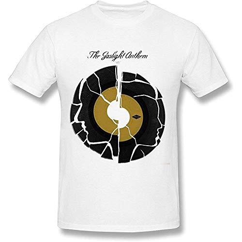 Short Sleeve Men's The Gaslight Anthem T-Shirts White