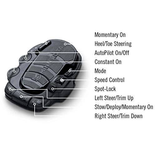 Minn Kota 1866080 Ulterra and Riptide Ulterra Corded Replacement Trolling Motor Foot Pedal