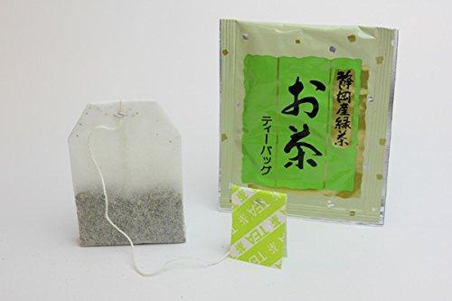 『寿老園 静岡県産緑茶使用 煎茶ティーバッグ 100g(2g×50袋)』の4枚目の画像