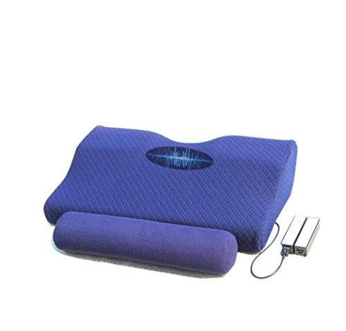 JMung'S Massage Kissen Schulter Elektrische Massage,Weltraum - Memory Baumwolle + Cassia Material,Schulter und Hals Taille Heizung Geschenk Mehrzweck Auto Dual-Use-Haushalt