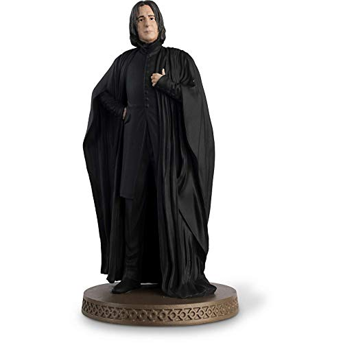 Hero Collector Wizarding World Figurine Collection   Severus Snape with Magazine Issue 14 by Eaglemoss image