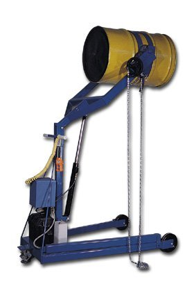"""Vestil Mfg. Co., Hydraulic Drum Carrier Boom - Powered, Hyd-96-Power, Lift Hgt.: 96"""", Wt. (Lbs.): 672, Option A: Dc Powered, Dc-305-96-Power"""