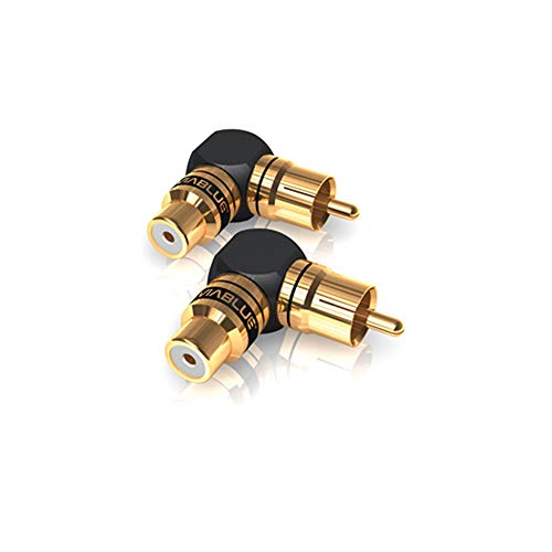 ViaBlue XS Adapter Cinchadapter 90° (VPE 2 Stück)