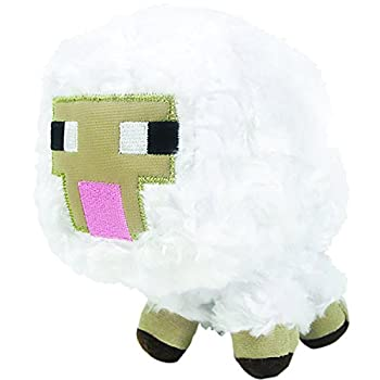 "*Includes 1x Minecraft Baby Sheep plush *Plush measures approximately 6"" tall *Officially licensed *Includes care tags *Brand new"