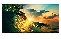 Artaアートパネルインテリアアート キャンバス絵画 壁掛け 風景 海 壁飾り 部屋飾り 廊下 リビングルーム ベッドルーム 美術室壁絵 (海D1)