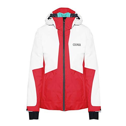 Colmar, Skijacke, Damen Skijacke, rot/weiß, mit Kapuze, Thermore 2972.9RT.192, 2972, Rot, 2972 34