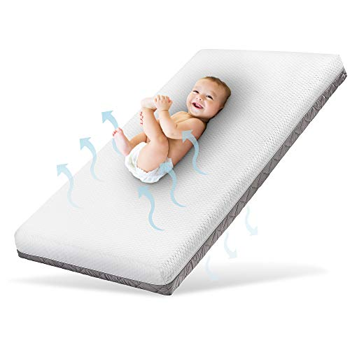 Ehrenkind® Babymatratze Royal | Baby Matratze 70x140 | Kindermatratze 70x140 mit innovativem 3D...