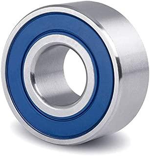 2x 6308-OPEN Ball Bearing 40mm x 90mm x 23mm  w// Snap Ring Chrome steel