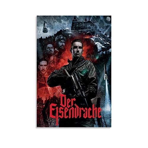 Poster de jeu Call of Duty Black Ops 3 Zombie Der Eisendrache - Peinture sur toile décorative pour salon, chambre à coucher - 30 x 45 cm