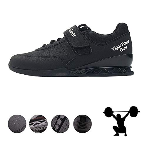 AIALTS Chaussures Haltérophilie Professionnelles, Squat Culturisme Levage Dynamophilie Chaussures Compétition De...