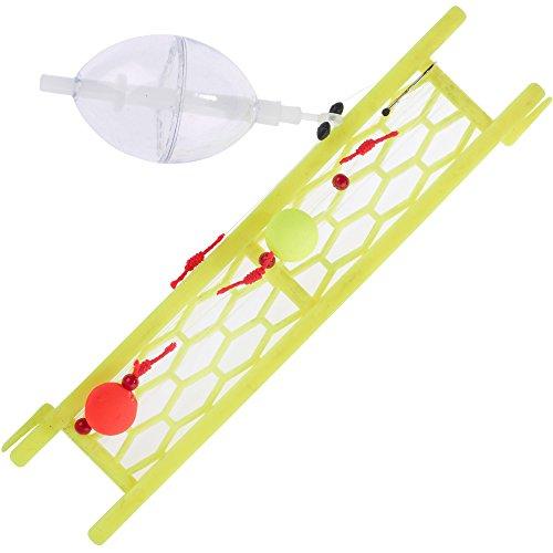 Balzer Forellensystem mit Wasserkugel 190cm 0,25mm Gr. 6 zum Forellenangeln am Forellenteich & See, Forellenmontage für Forellen, Farbe:Transparent