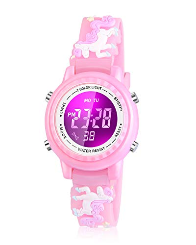 kids watch with timer digital - 5