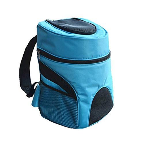JJL Mochila para transportador de perros, mochila para mascotas con malla para perros pequeños, cachorros de gatos, mochila Comfort Cat, aerolínea aprobada para caminatas de viaje Camping al aire libr