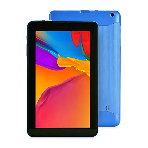 Haehne 9 Pollici Tablet PC - Google Android 6.0, 1GB RAM 16GB ROM Quad Core, Doppia Fotocamera, WiFi, Bluetooth, Blu
