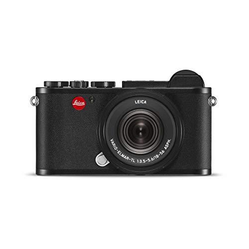 Leica CL 24MP Mirrorless Digital Camera with Vario-Elmar-TL 18-56mm f/3.5-5.6 Aspherical Lens, Black Anodized Finish