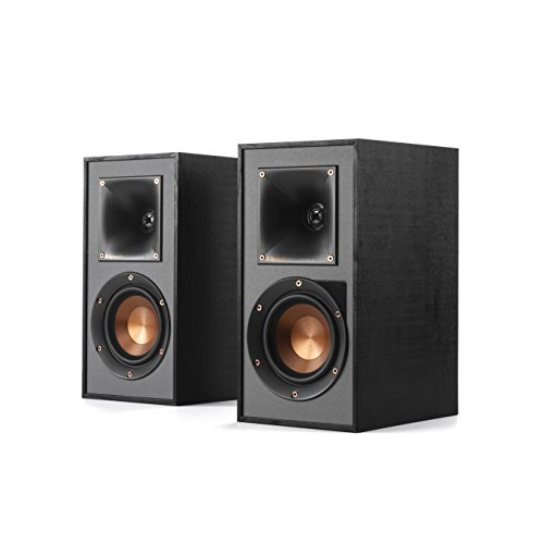 Klipsch R-41PM Powered Bookshelf Speaker,Black