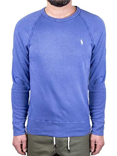 Polo Ralph Lauren Mod. 710644952 Sudadera Cuello Redondo SPA Terry Hombre Azul L