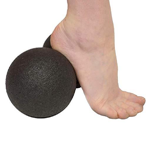 Masaje de cacahuete bola Fascia masajeador rodillo pilates yoga gimnasio relajante ejercicio fitness bolas masaje muscular bola aliviar el dolor