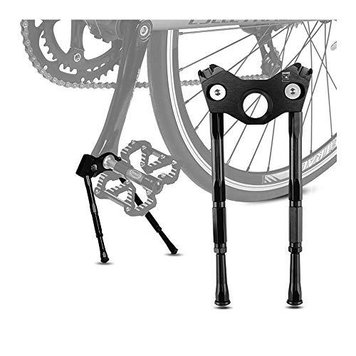 nonbrand Double Bike Kickstand, Bike Kickstand Adjustable Bicycle Kickstan, for Mountain Bike/Road Bike/BMX/MTB