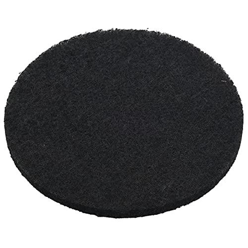 Kaxofang Paquete de 6 Filtros de DepóSito de Compost Espesados Filtros de CarbóN Activado para Reemplazo de Filtros de DepóSito de Compost de Cocina, 10 Mm de Espesor, 6,75 Pulgadas