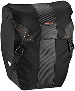 IBERA Bicycle Pannier Bag - PAK RAK with Quick Clip-On System, Secure 3 point connection 15L