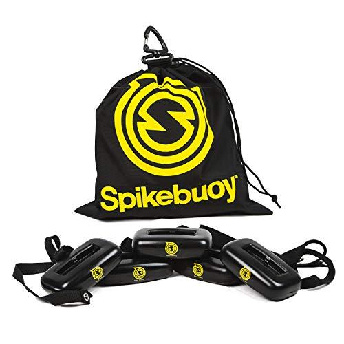 Spikeball Spikebooy on Water Accessory - Juega en la piscina o en la playa - Uso con juegos estándar y Pro - Incluye flotadores de piernas y bolsa de anclaje