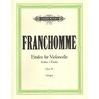 FRANCHOMME - Caprichos (Estudios) Op.35 para Violoncello (Klengel)